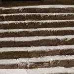 Escalinata sèpia