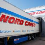 Camió al moll de càrrega de Nord Cargo